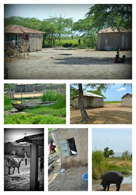 Village life Collage